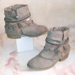 Jellypop | Grey Ankle Boots